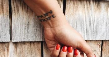 Shibani's tattoo