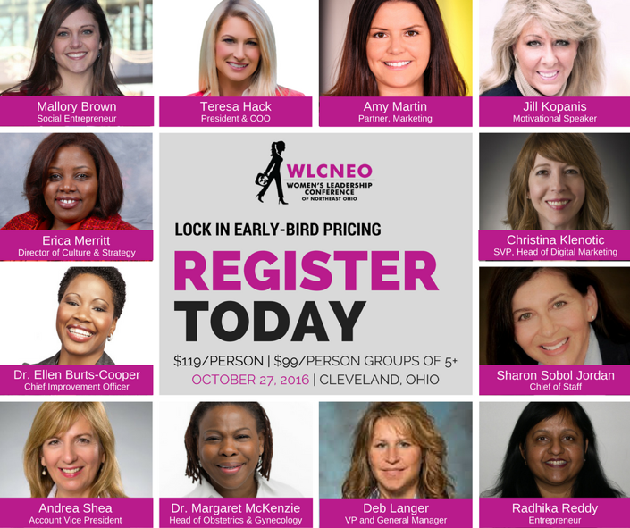 Speaker at this year's Women's Leadership Conference of Northeast Ohio